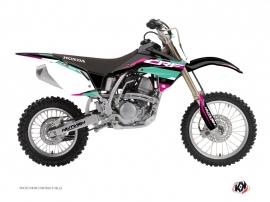 Honda 150 CRF Dirt Bike League Graphic Kit Turquoise