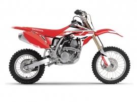 Honda 150 CRF Dirt Bike Nasting Graphic Kit White Red