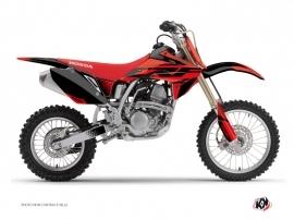 Honda 150 CRF Dirt Bike Nasting Graphic Kit Red Black