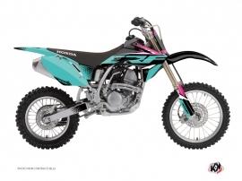 Honda 150 CRF Dirt Bike Nasting Graphic Kit Turquoise