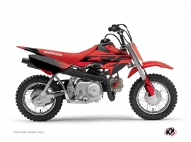 Honda 50 CRF Dirt Bike Nasting Graphic Kit Red