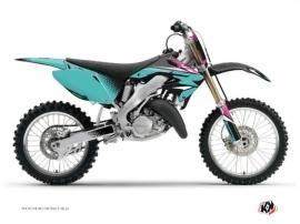Honda 250 CR Dirt Bike Nasting Graphic Kit Turquoise