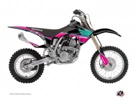 Honda 150 CRF Dirt Bike Wing Graphic Kit Turquoise
