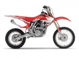 Honda 150 CRF Dirt Bike Wing Graphic Kit Grey