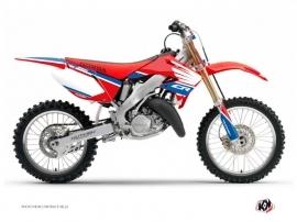 Honda 250 CR Dirt Bike Wing Graphic Kit Blue