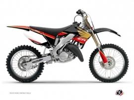 Honda 250 CR Dirt Bike Wing Graphic Kit Gold