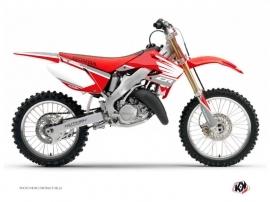 Honda 250 CR Dirt Bike Wing Graphic Kit Grey