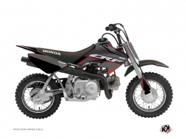 Honda 50 CRF Dirt Bike Dyna Graphic Kit Black
