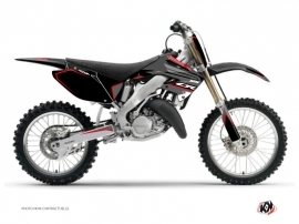 Kit Déco Moto Cross Dyna Honda 125 CR Noir