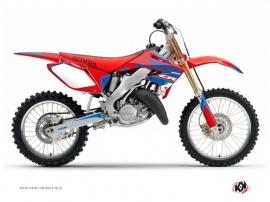 Honda 250 CR Dirt Bike Dyna Graphic Kit Blue