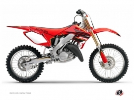 Honda 250 CR Dirt Bike Dyna Graphic Kit Gold