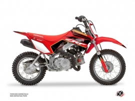 Honda 110F CRF Dirt Bike Dyna Graphic Kit Gold
