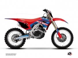 Honda 250 CRF Dirt Bike Dyna Graphic Kit Blue