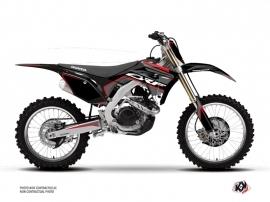Honda 250 CRF Dirt Bike Dyna Graphic Kit Black