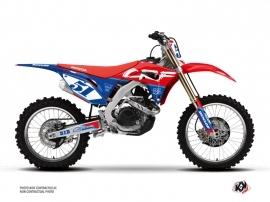 Honda 250 CRF Dirt Bike Rask Graphic Kit Blue