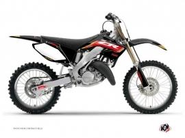 Kit Déco Moto Cross Works Honda 250 CR Noir