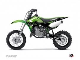 Kawasaki 65 KX Dirt Bike Claw Graphic Kit Green