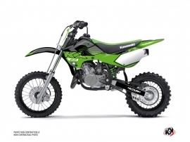 Kawasaki 65 KX Dirt Bike Claw Graphic Kit Black