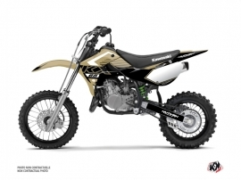Kawasaki 65 KX Dirt Bike Claw Graphic Kit Sand