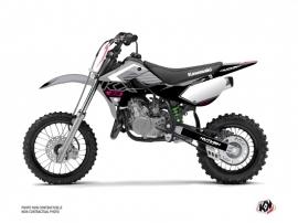 Kawasaki 65 KX Dirt Bike Claw Graphic Kit Grey