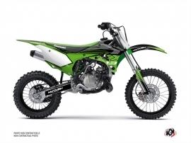 Kawasaki 85 KX Dirt Bike Claw Graphic Kit Black