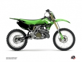 Kawasaki 125 KX Dirt Bike Claw Graphic Kit Green