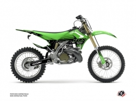 Kawasaki 250 KX Dirt Bike Claw Graphic Kit Green