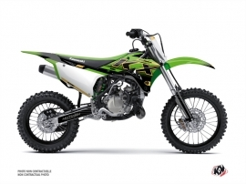 Kit Déco Moto Cross Live Kawasaki 85 KX Gold
