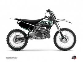 Kawasaki 125 KX Dirt Bike Live Graphic Kit Turquoise