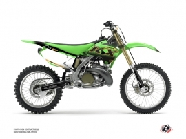 Kawasaki 250 KX Dirt Bike Live Graphic Kit Gold