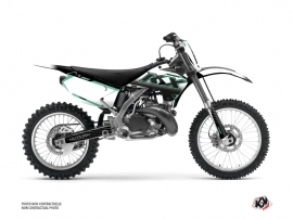Kawasaki 250 KX Dirt Bike Live Graphic Kit Turquoise