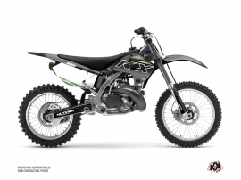 Kawasaki 250 KX Dirt Bike Live Graphic Kit Grey