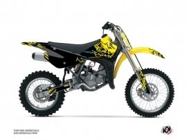 Suzuki 85 RM Dirt Bike Zero Graphic Kit Yellow