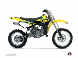 Kit Déco Moto Cross Grade Suzuki 85 RM Bleu