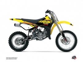Suzuki 85 RM Dirt Bike Grade Graphic Kit Red