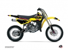 Suzuki 85 RM Dirt Bike Grade Graphic Kit Pink