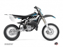 Yamaha 85 YZ Dirt Bike Skew Graphic Kit Grey