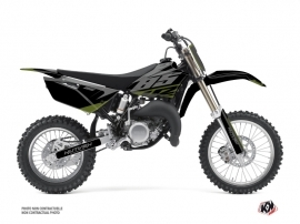 Yamaha 85 YZ Dirt Bike Skew Graphic Kit Kaki