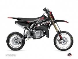 Yamaha 65 YZ Dirt Bike Skew Graphic Kit Red