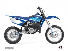 Kit Déco Moto Cross Outline Yamaha 85 YZ Bleu
