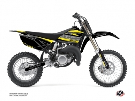 Yamaha 85 YZ Dirt Bike Outline Graphic Kit Yellow