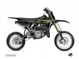 Yamaha 65 YZ Dirt Bike Outline Graphic Kit Kaki
