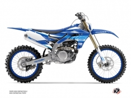 Yamaha 450 WRF Dirt Bike Outline Graphic Kit Blue