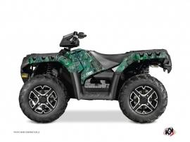 Polaris 550 Sportsman Forest ATV Camo Graphic Kit Green