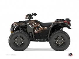 Polaris 850 Sportsman Forest ATV Jungle Graphic Kit Brown