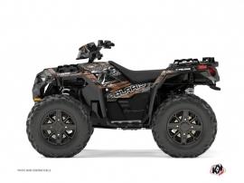 Polaris 850 Sportsman Forest ATV Lifter Graphic Kit Brown