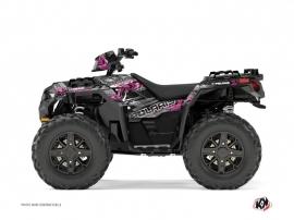 Polaris 850 Sportsman Forest ATV Lifter Graphic Kit Pink