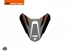 Graphic Kit Seat Cowl Moto Slash KTM Black Orange