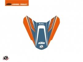 Graphic Kit Seat Cowl Moto Slash KTM Orange Blue