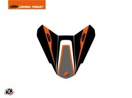 Graphic Kit Seat Cowl Moto Storm KTM Black Orange